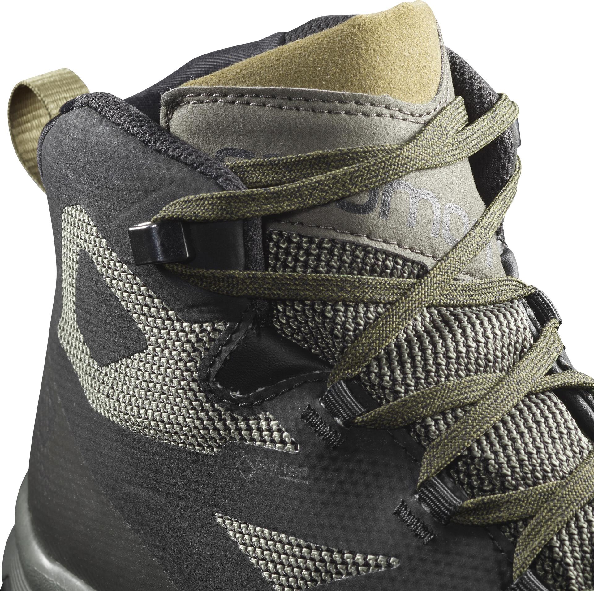 Salomon OUTline Mid GTX Schuhe Herren blackbelugacapers
